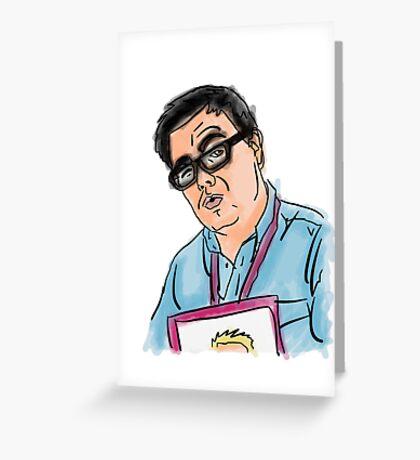 Shaun Causer Illustration Greeting Card