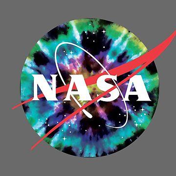 «Logo de la Nasa avec style tie-dye - Hippie Fun Nasa Logo» par ChillingNation