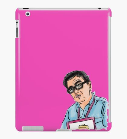 Shaun Causer Illustration iPad Case/Skin