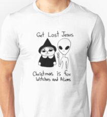 Christmas is for Witches and Aliens Unisex T-Shirt