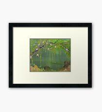 Lovely Swamp Framed Print