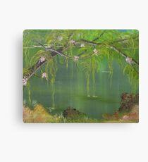 Lovely Swamp Canvas Print
