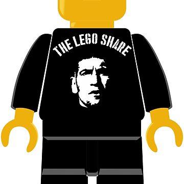 The Lego Share Frank Castle by Desenatorul1976