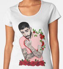 Inspired by Zayn Malik  - Pillowtalk design- Mind of Mine design Women's Premium T-Shirt