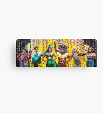 Hot Brown Honey Poster Canvas Print