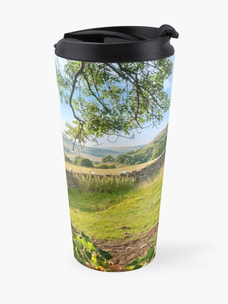 Alternate view of God's own County, North Yorkshire Travel Mug