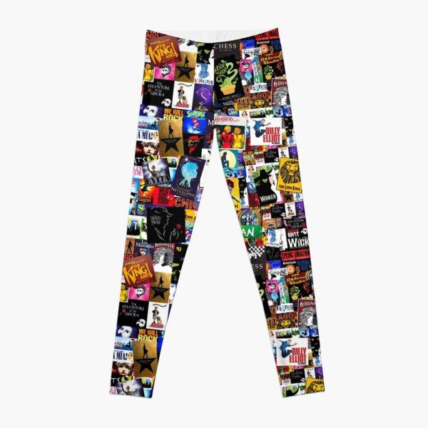 Musicals Collage IV  Leggings