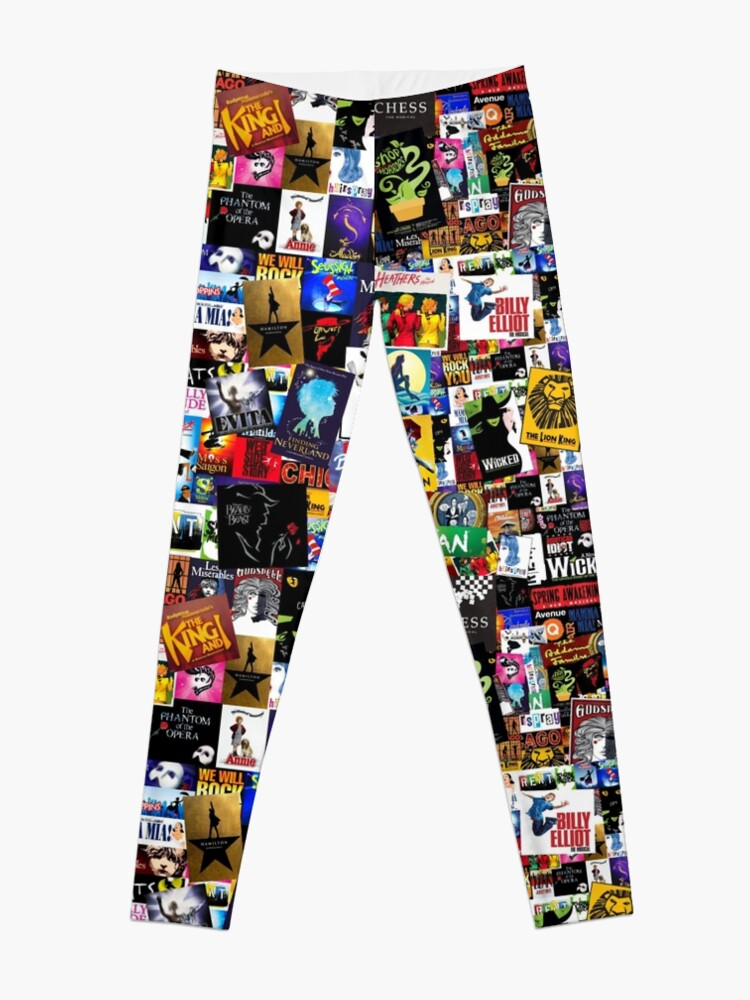 Alternate view of Musicals Collage IV  Leggings