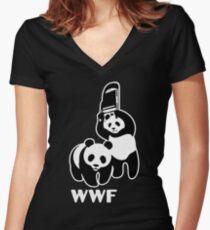 WWF Women's Fitted V-Neck T-Shirt