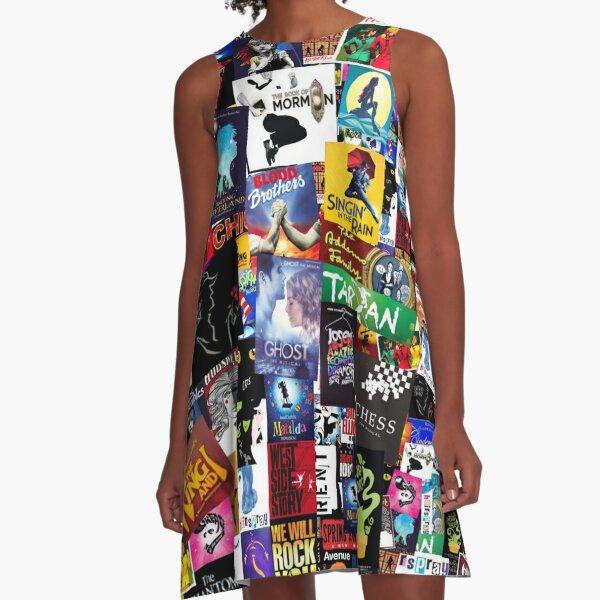 Musicals Collage IV  A-Line Dress