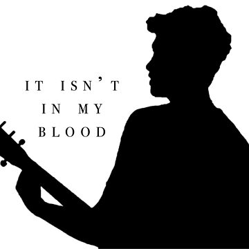 In My Blood Silhouette  by Beginartist