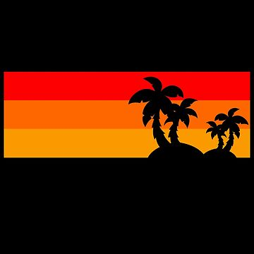 Sun and Palms by schnibschnab
