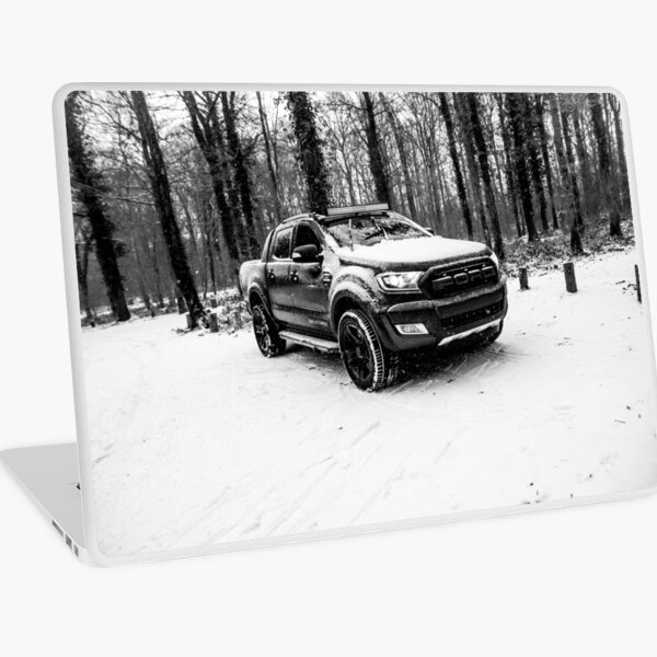Ford Ranger in The snow Laptop Skin