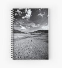 Parched In B&W Spiral Notebook