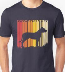 Vintage Retro Dogo Argentino Christmas Gift Unisex T-Shirt