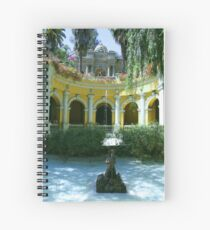 Cerro Santa Lucia - 3 - Santiago, Chile Spiral Notebook