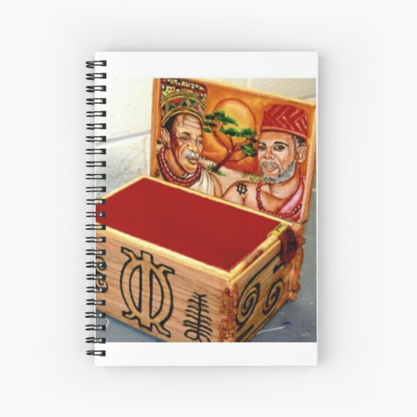 Custom Box Spiral Notebook