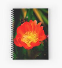 The Cactus Flower Spiral Notebook