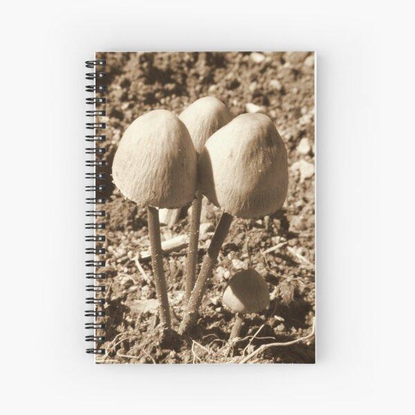 Toadstools Spiral Notebook