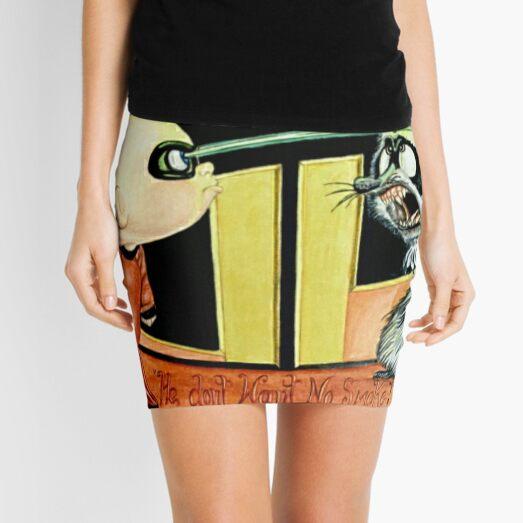 Lookout! Mini Skirt