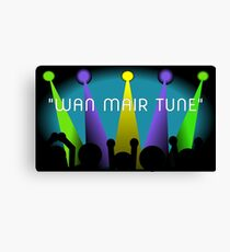 Wan Mair Tune Canvas Print