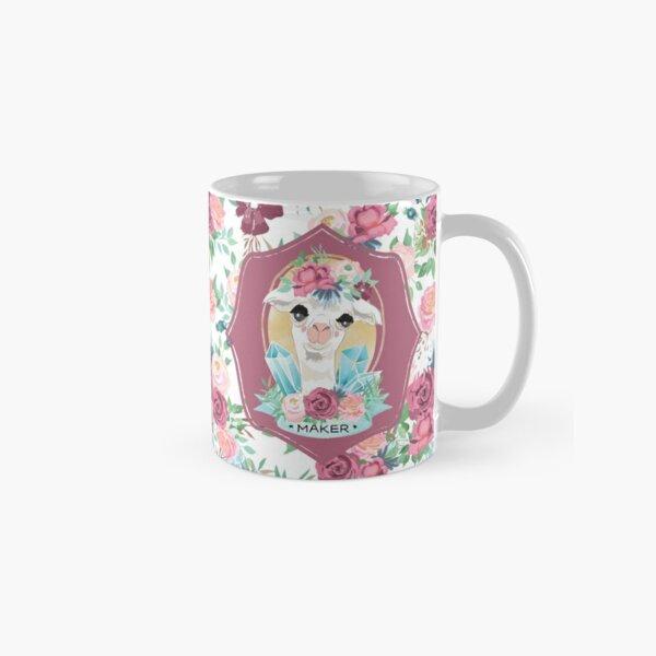 Vintage Flora the Maker Alpaca Mug Classic Mug