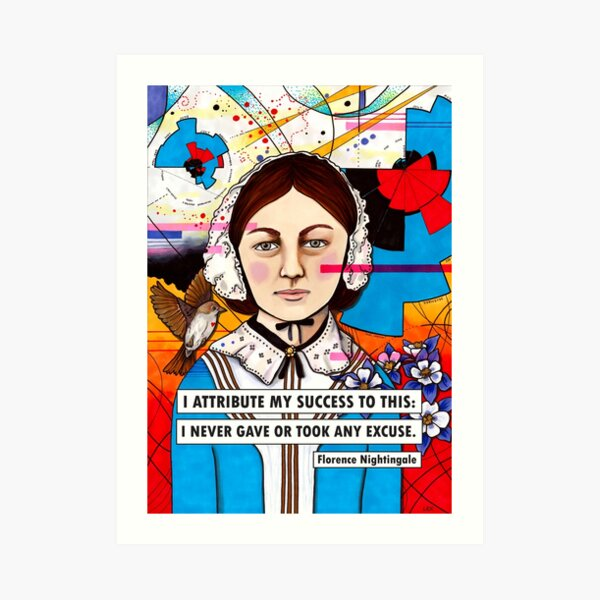 Florence Nightingale Art Print
