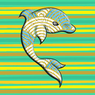 Quilt Dolphin by anissa147