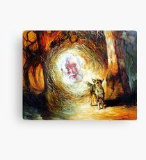 His Voice May be Heard - Waltzing Matilda Series Canvas Print