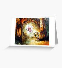 His Voice May be Heard - Waltzing Matilda Series Greeting Card