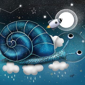 Space Snail by karin