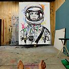 studio with the last explorer by Loui  Jover