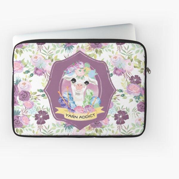 Violet the Yarn Addict Alpaca Laptop Sleeve