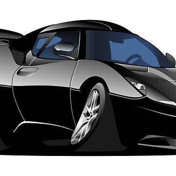 Cartoon Sportcar by Mechanick