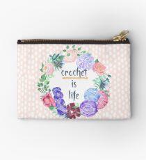 Crochet is Life Studio Pouch