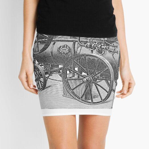 Ancient steam machine #steampunk #steampunkstyle #steampunkfashion #steampunkclothing #Cyberpunk #Dieselpunk #Fantasy #ScienceFiction #Ancientsteammachine #Ancient #steam #machine #steammachine Mini Skirt