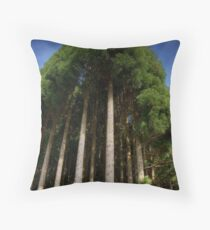 Conifers Throw Pillow