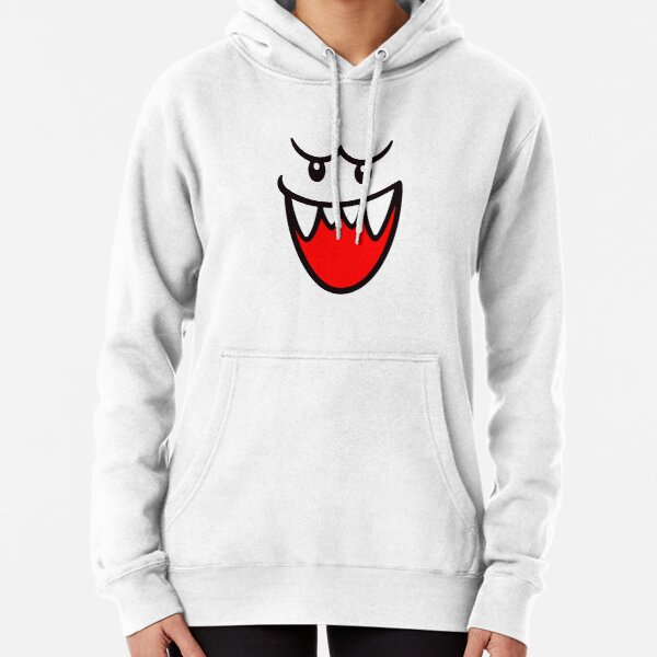Classic Boo Face Pullover Hoodie