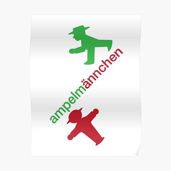 ampelmännchen Poster