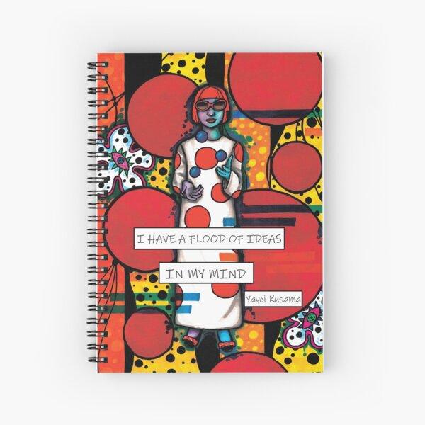 Yayoi Kusama Spiral Notebook