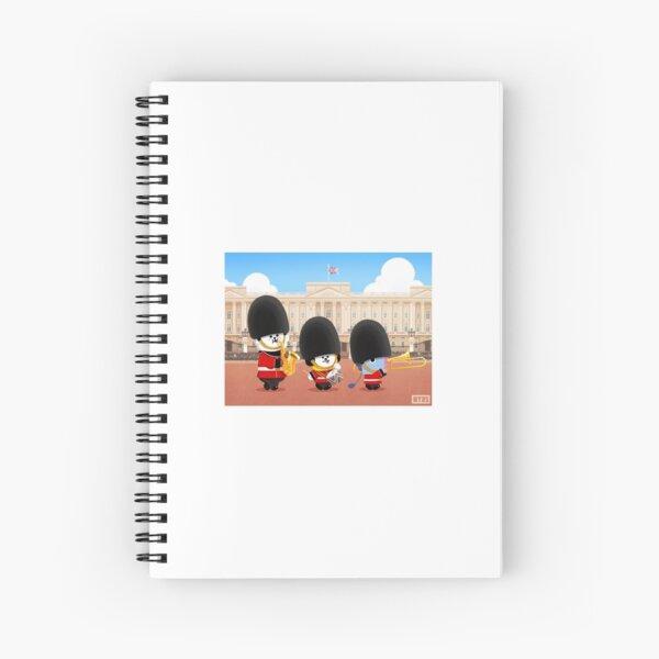 BT21 - Londres Cuaderno de espiral