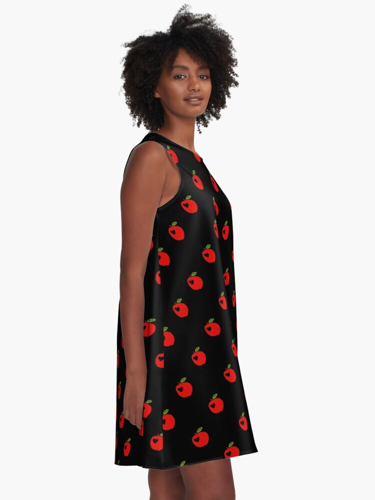 Alternate view of Love apples A-Line Dress