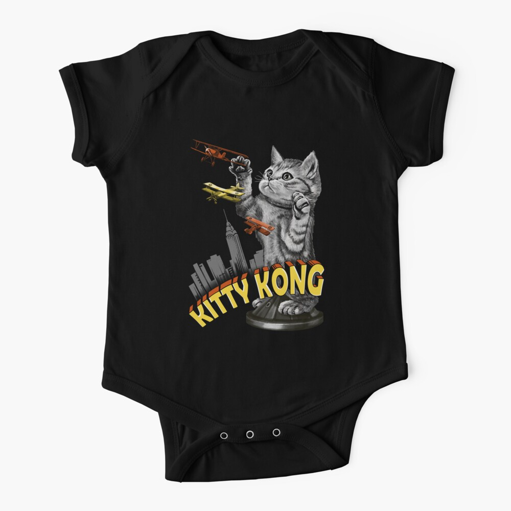 Kitty Kong Baby One-Piece