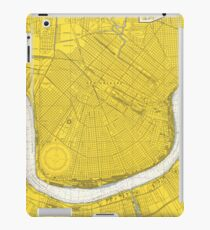 Vintage Map of New Orleans LA (1966) iPad Case/Skin