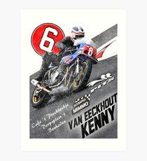 Kenny SBK Classic #6 Art Print