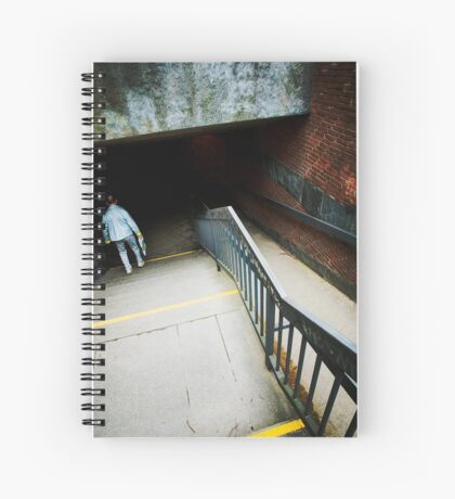 seeking the dark Spiral Notebook