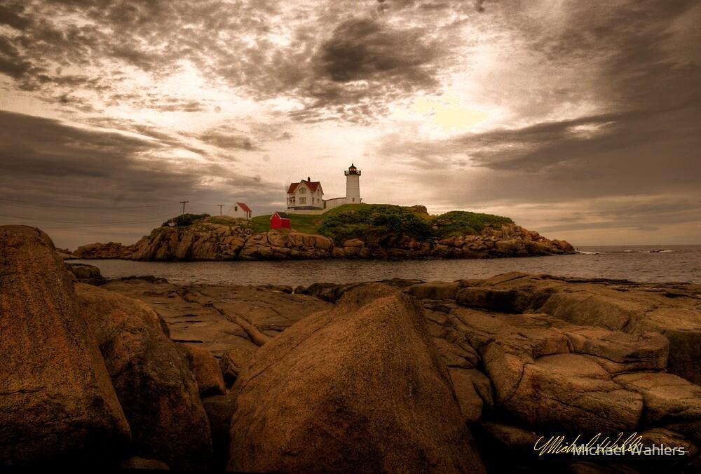 Coastal Maine, USA by Michael Wahlers