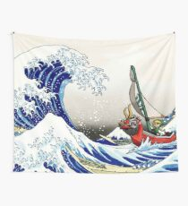 Legende von Zelda Great Wave Windwaker Wandbehang