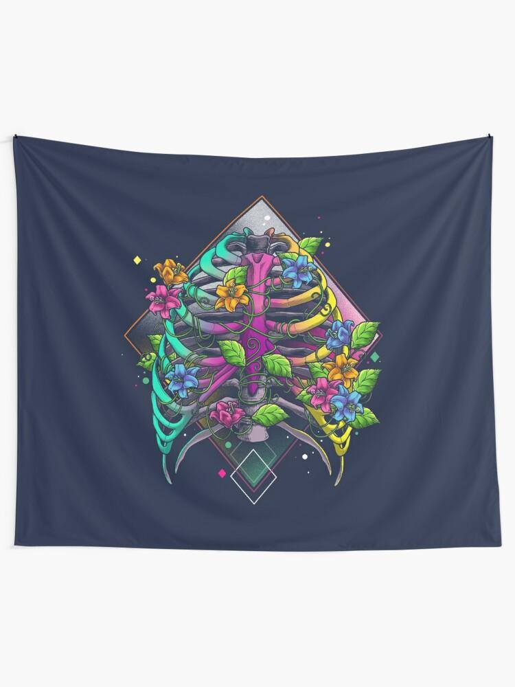 Alternate view of The Joyful New Life Tapestry