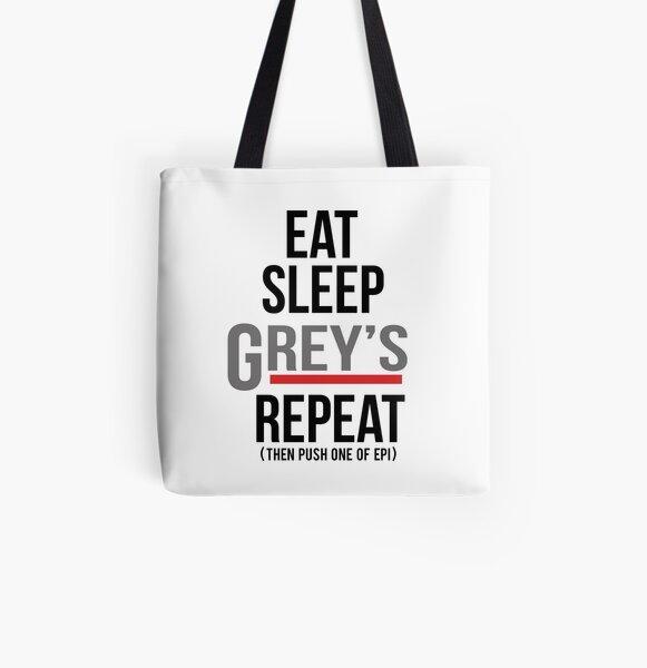 Grey's Repeat All Over Print Tote Bag